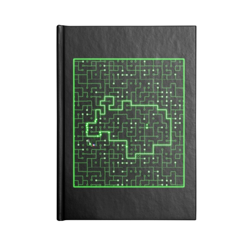 Racing Circuit Accessories Blank Journal Notebook by Eriklectric's Artist Shop
