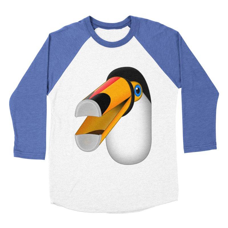 Tou-can Men's Baseball Triblend Longsleeve T-Shirt by Eriklectric's Artist Shop
