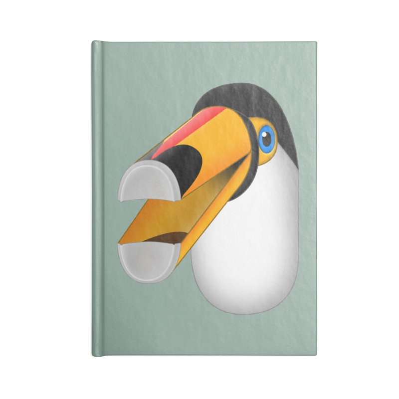 Tou-can Accessories Blank Journal Notebook by Eriklectric's Artist Shop