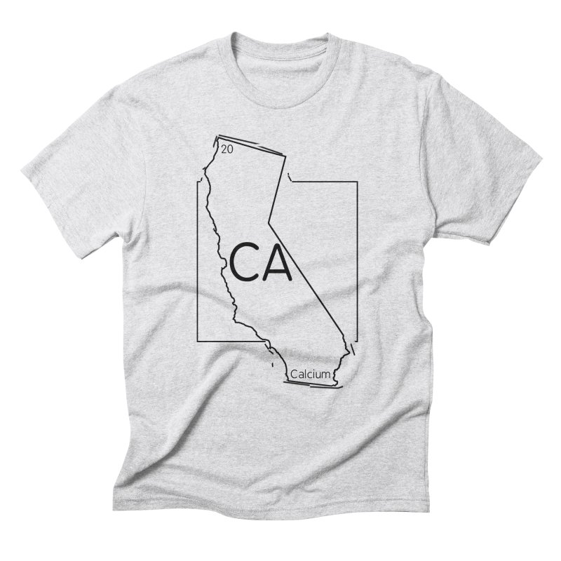 Calcifornia Men's Triblend T-Shirt by Eriklectric's Artist Shop