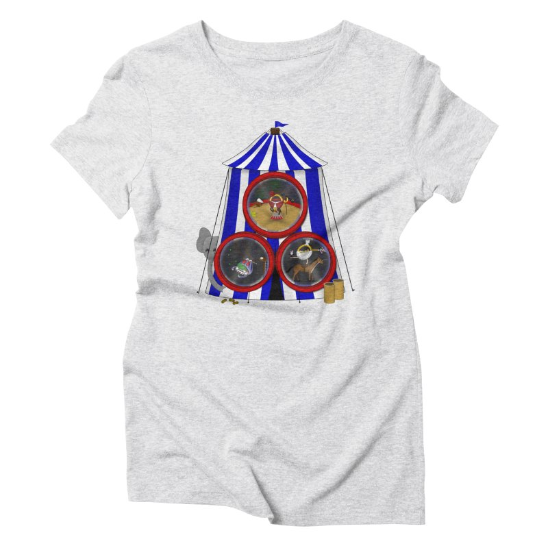 3 Ring Circus Women's Triblend T-Shirt by Eriklectric's Artist Shop
