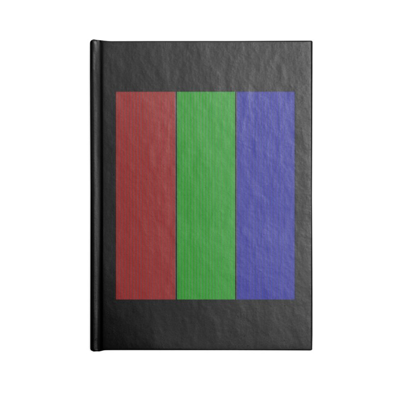 Giant Pixel Accessories Lined Journal Notebook by Eriklectric's Artist Shop