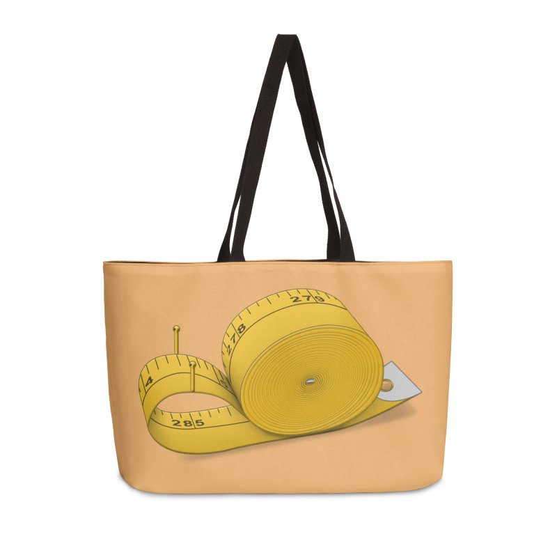 Tape Measure Snail Accessories Weekender Bag Bag by Eriklectric's Artist Shop