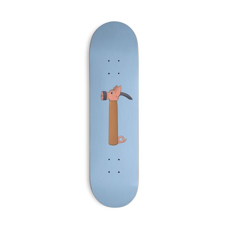 Ham-mer Accessories Skateboard by Eriklectric's Artist Shop
