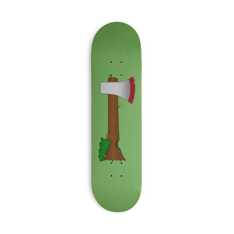Tree Chopper Accessories Skateboard by Eriklectric's Artist Shop