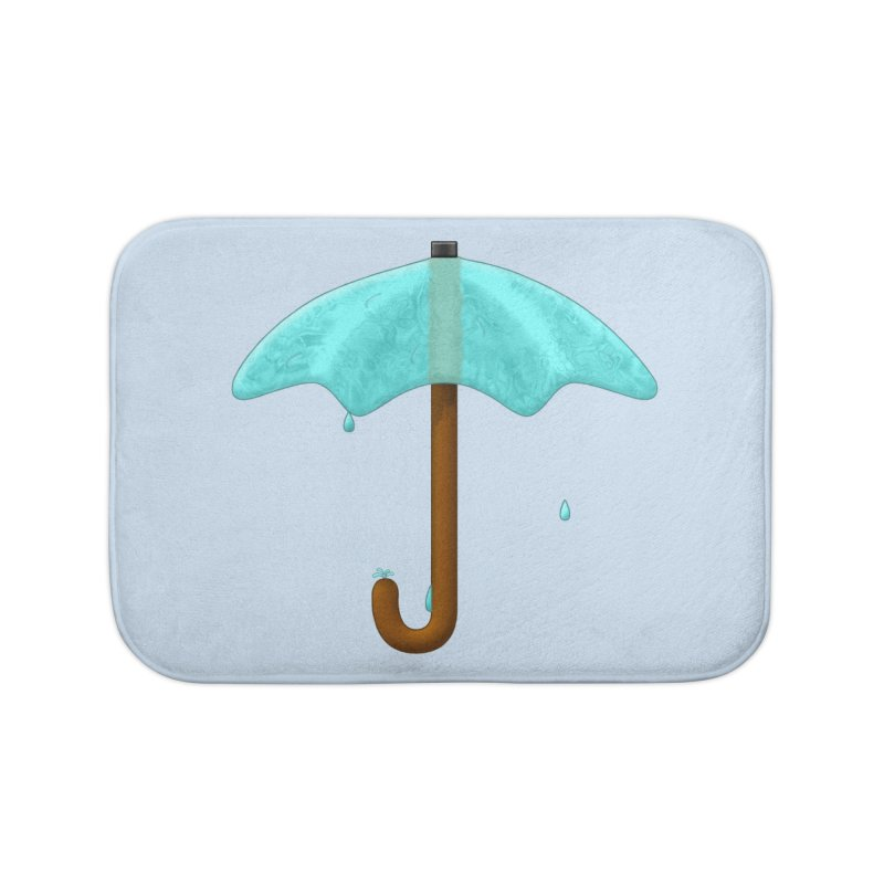 Water Umbrella Home Bath Mat by Eriklectric's Artist Shop