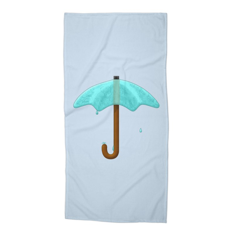 Water Umbrella Accessories Beach Towel by Eriklectric's Artist Shop