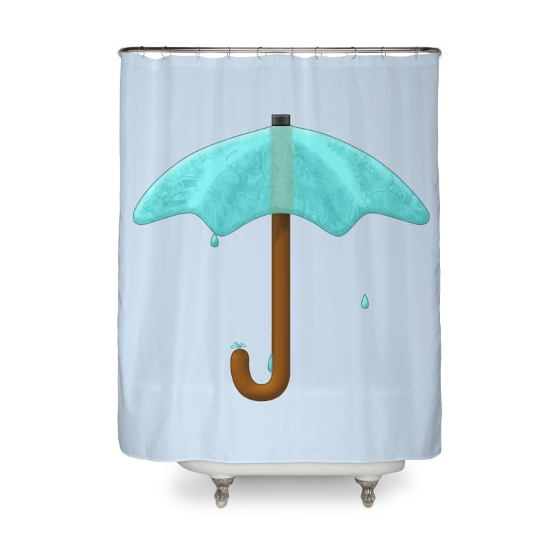 Water Umbrella Home Shower Curtain by Eriklectric's Artist Shop