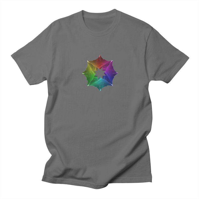 Prism Snowflake Women's Unisex T-Shirt by Eriklectric's Artist Shop