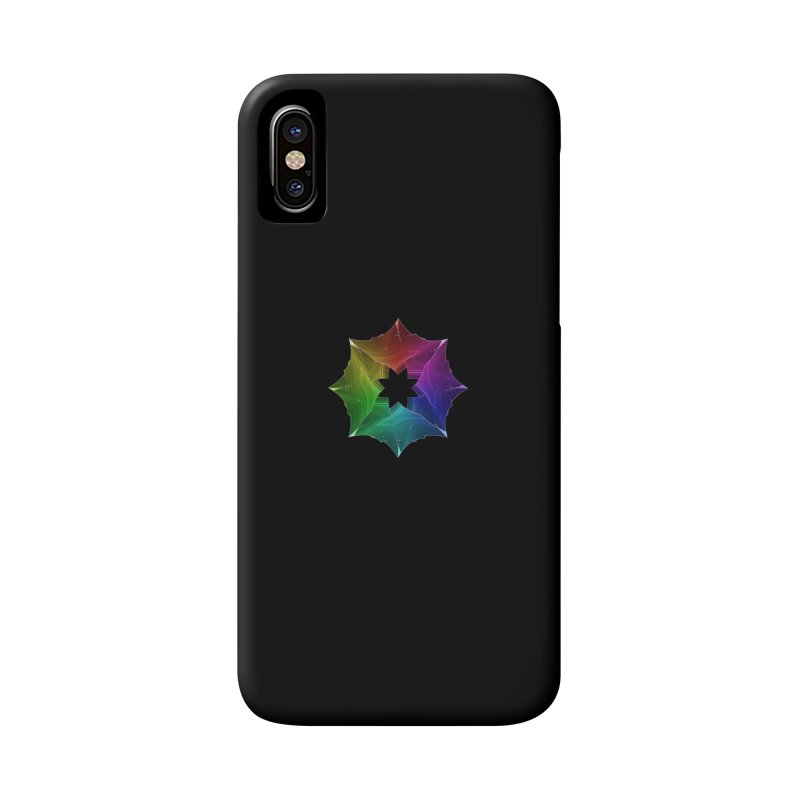 Prism Snowflake Accessories Phone Case by Eriklectric's Artist Shop