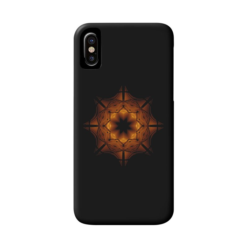 Halloween Snowflake Accessories Phone Case by Eriklectric's Artist Shop