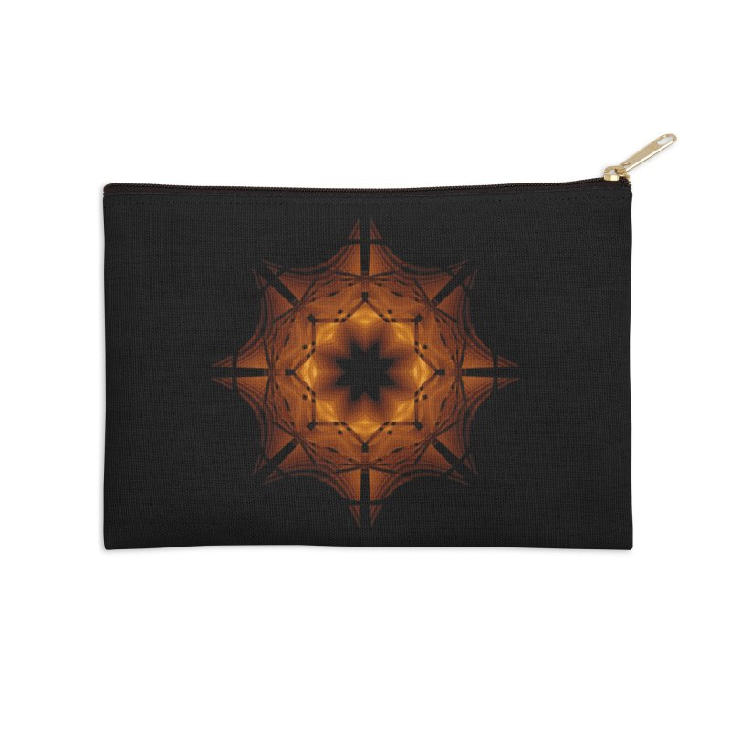 Halloween Snowflake Accessories Zip Pouch by Eriklectric's Artist Shop