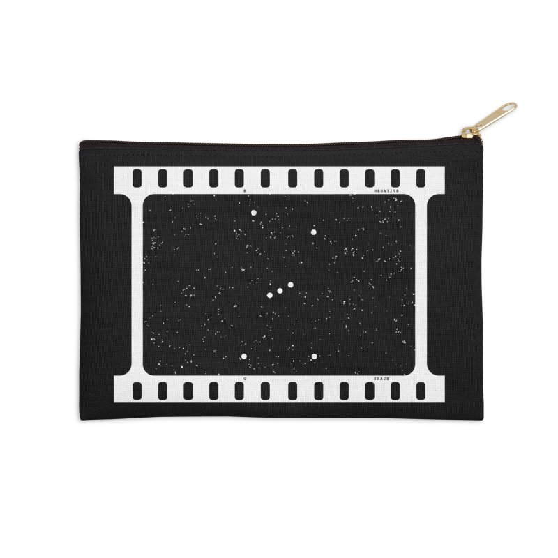 Space Negative Accessories Zip Pouch by Eriklectric's Artist Shop