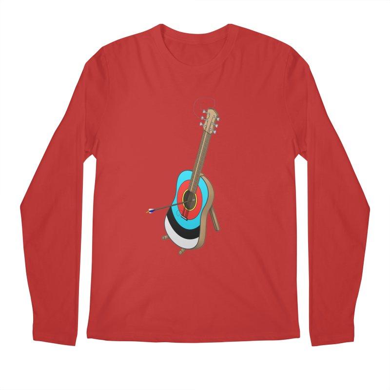 Guitarget Men's Longsleeve T-Shirt by Eriklectric's Artist Shop