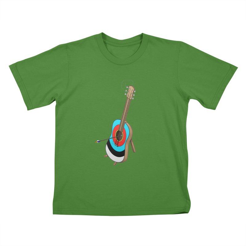 Guitarget Kids T-Shirt by Eriklectric's Artist Shop