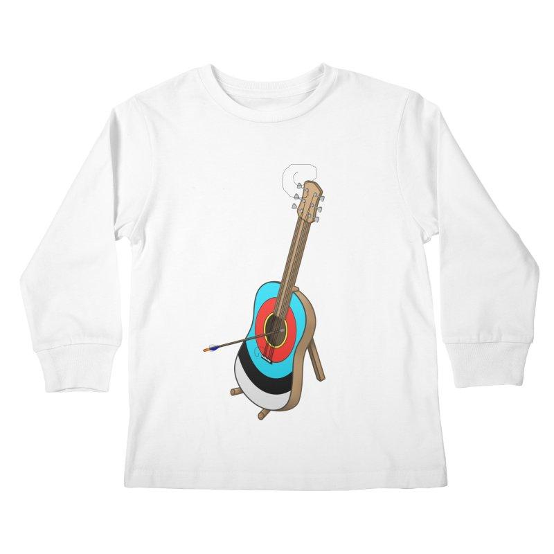 Guitarget Kids Longsleeve T-Shirt by Eriklectric's Artist Shop