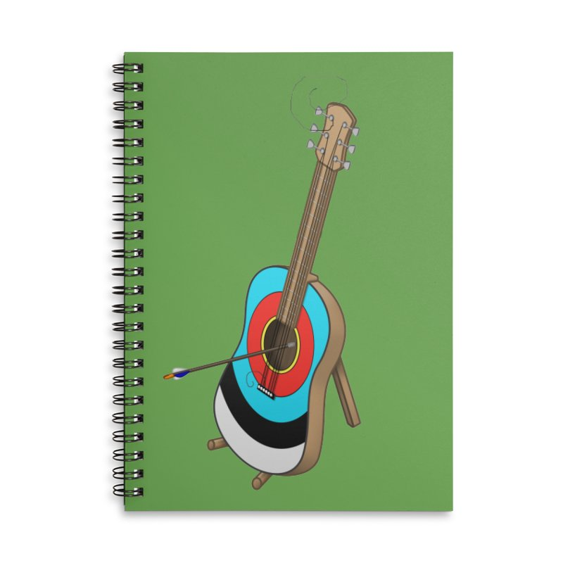 Guitarget Accessories Notebook by Eriklectric's Artist Shop
