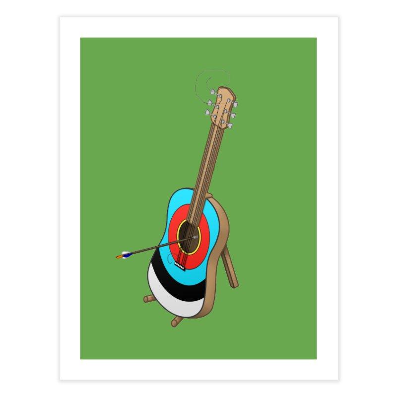 Guitarget Home Fine Art Print by Eriklectric's Artist Shop