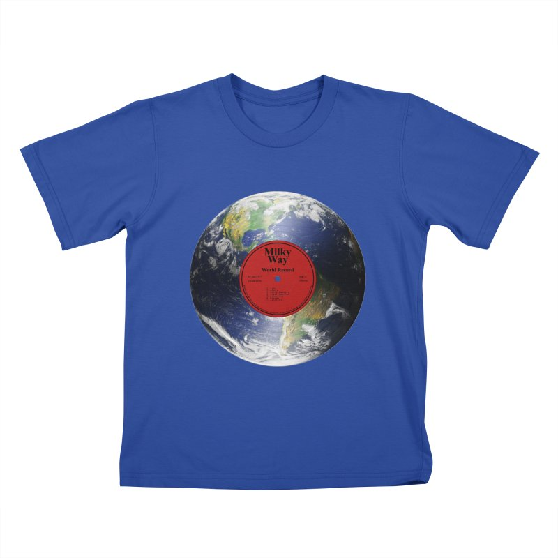 World Record Kids T-Shirt by Eriklectric's Artist Shop