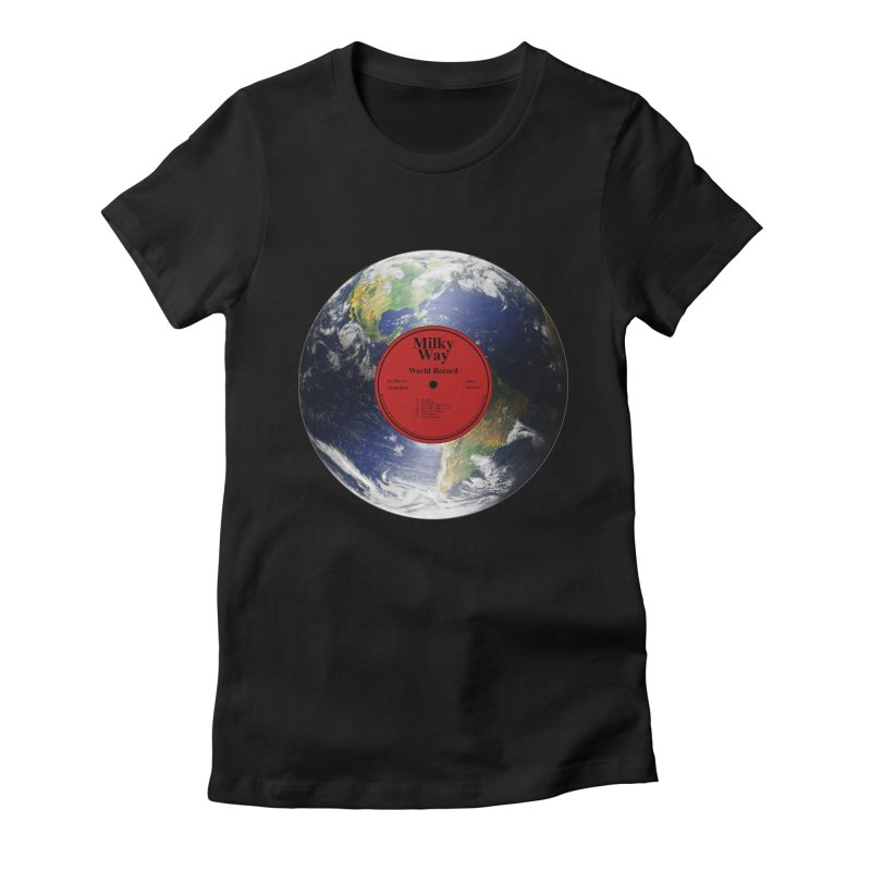 World Record Women's Fitted T-Shirt by Eriklectric's Artist Shop