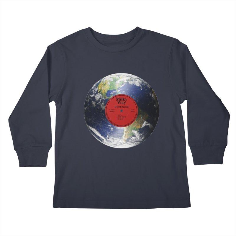 World Record Kids Longsleeve T-Shirt by Eriklectric's Artist Shop