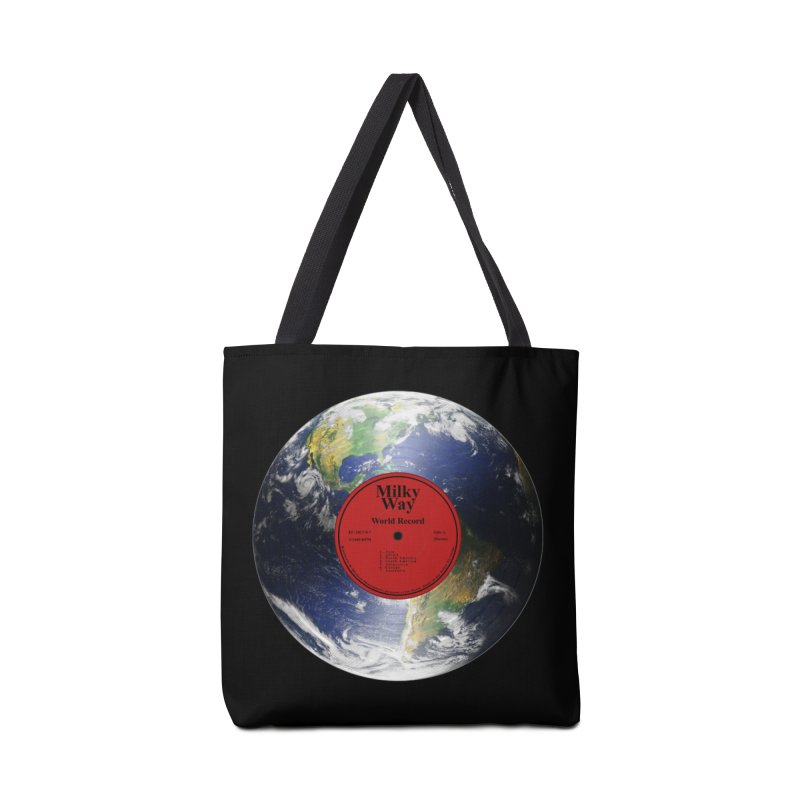 World Record Accessories Bag by Eriklectric's Artist Shop