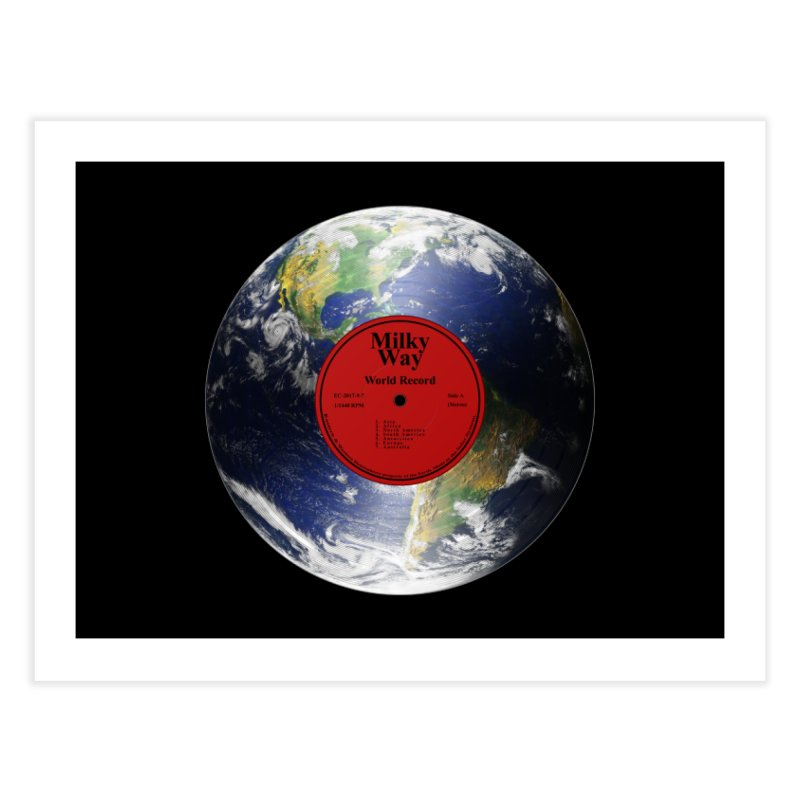 World Record Home Fine Art Print by Eriklectric's Artist Shop