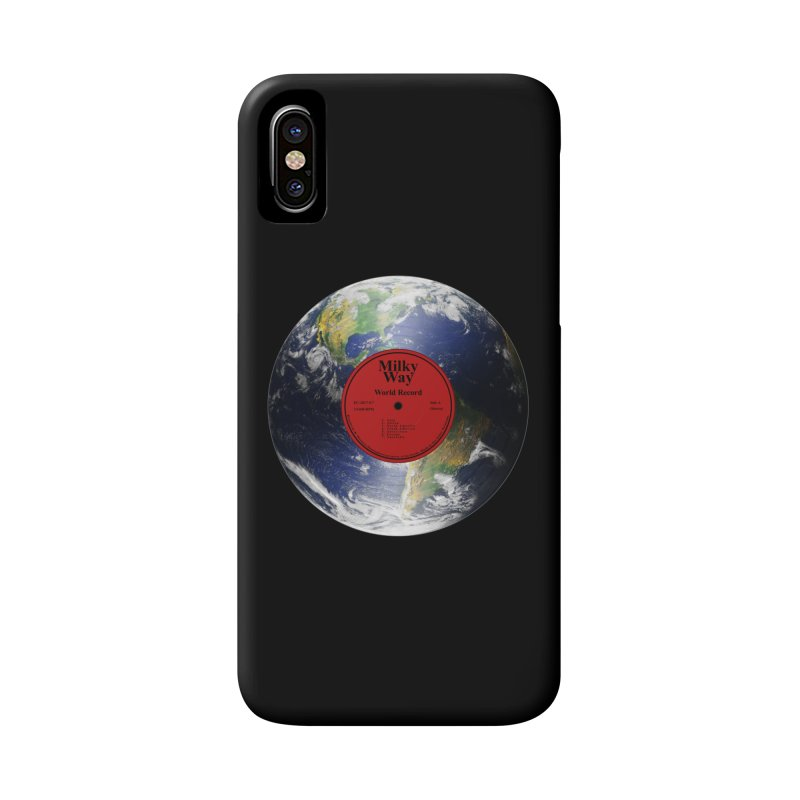 World Record Accessories Phone Case by Eriklectric's Artist Shop