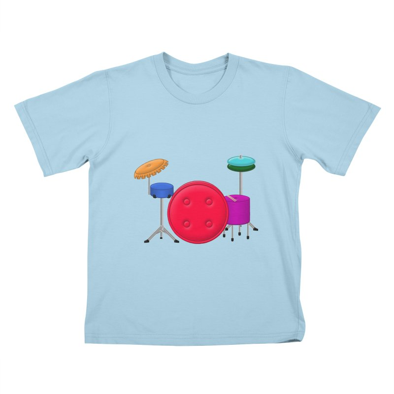 Percushion Kids T-Shirt by Eriklectric's Artist Shop
