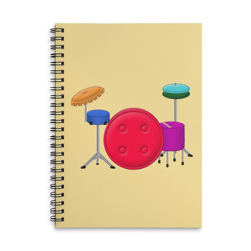 Percushion Accessories Notebook by Eriklectric's Artist Shop