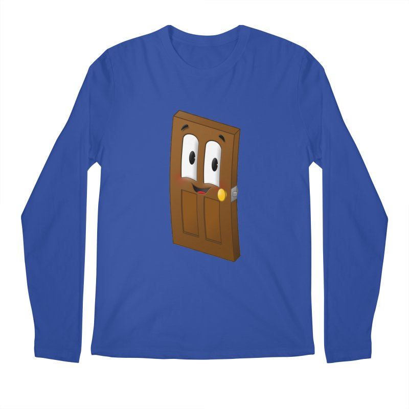 A-door-able Men's Longsleeve T-Shirt by Eriklectric's Artist Shop