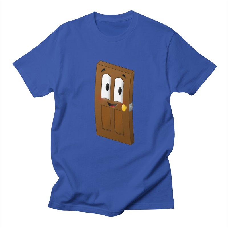 A-door-able Women's Unisex T-Shirt by Eriklectric's Artist Shop