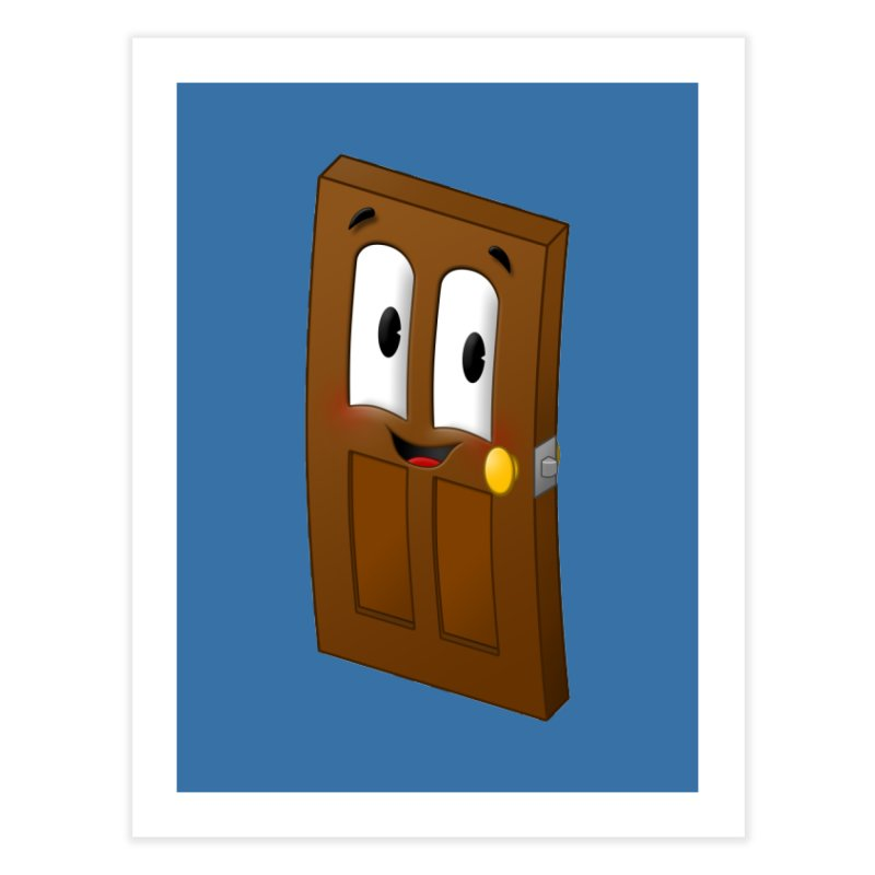 A-door-able Home Fine Art Print by Eriklectric's Artist Shop
