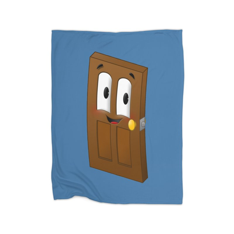 A-door-able Home Blanket by Eriklectric's Artist Shop