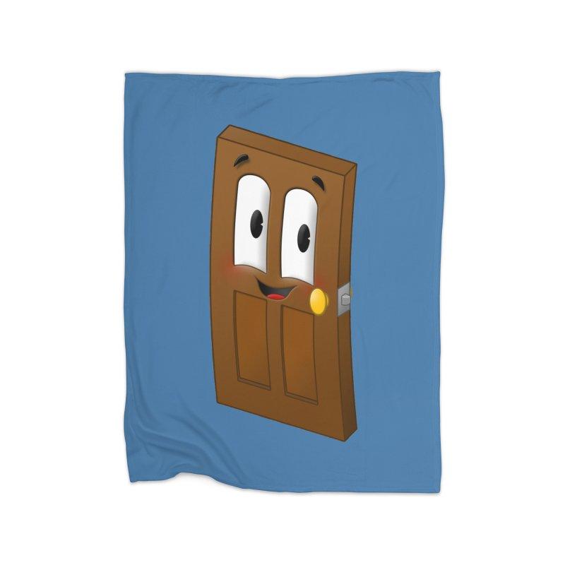 A-door-able Home Fleece Blanket Blanket by Eriklectric's Artist Shop
