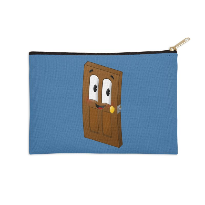 A-door-able Accessories Zip Pouch by Eriklectric's Artist Shop