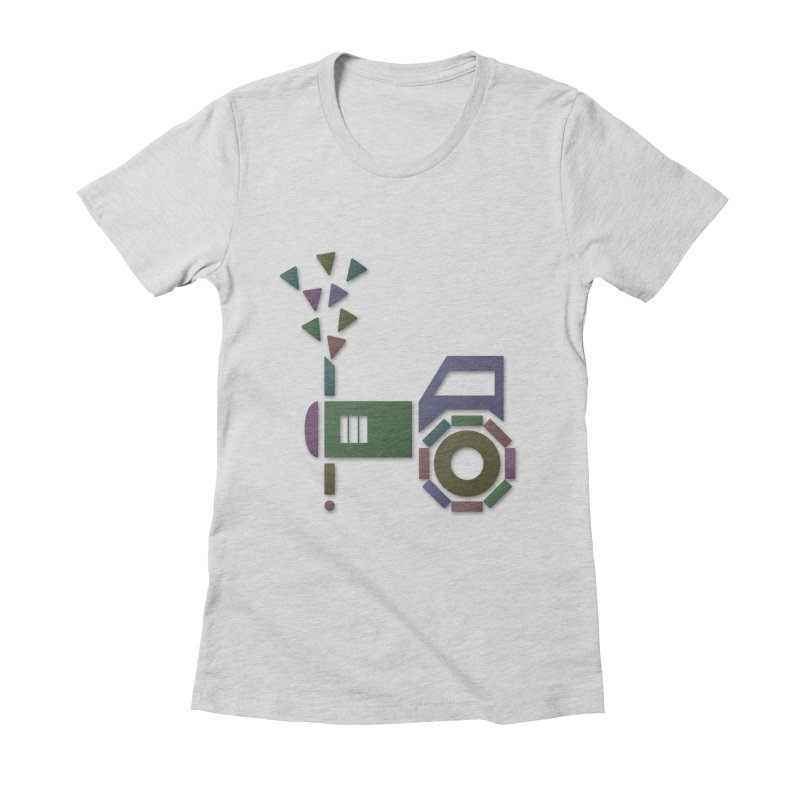 Abstract-or Women's Fitted T-Shirt by Eriklectric's Artist Shop