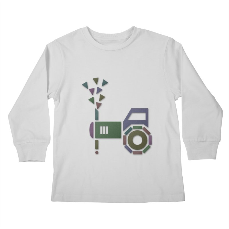 Abstract-or Kids Longsleeve T-Shirt by Eriklectric's Artist Shop
