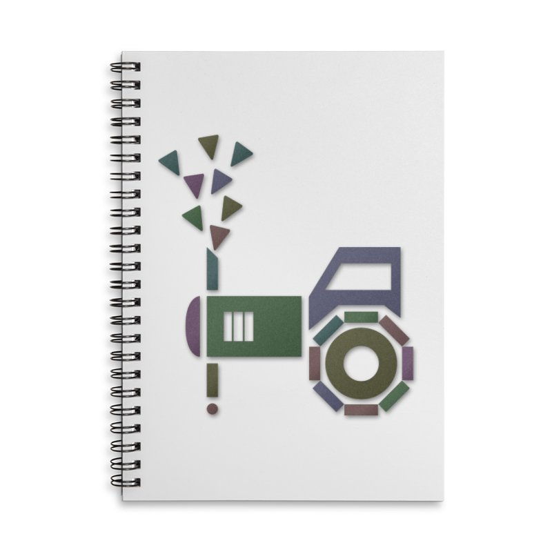 Abstract-or Accessories Notebook by Eriklectric's Artist Shop