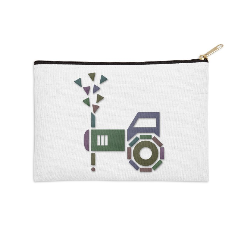 Abstract-or Accessories Zip Pouch by Eriklectric's Artist Shop