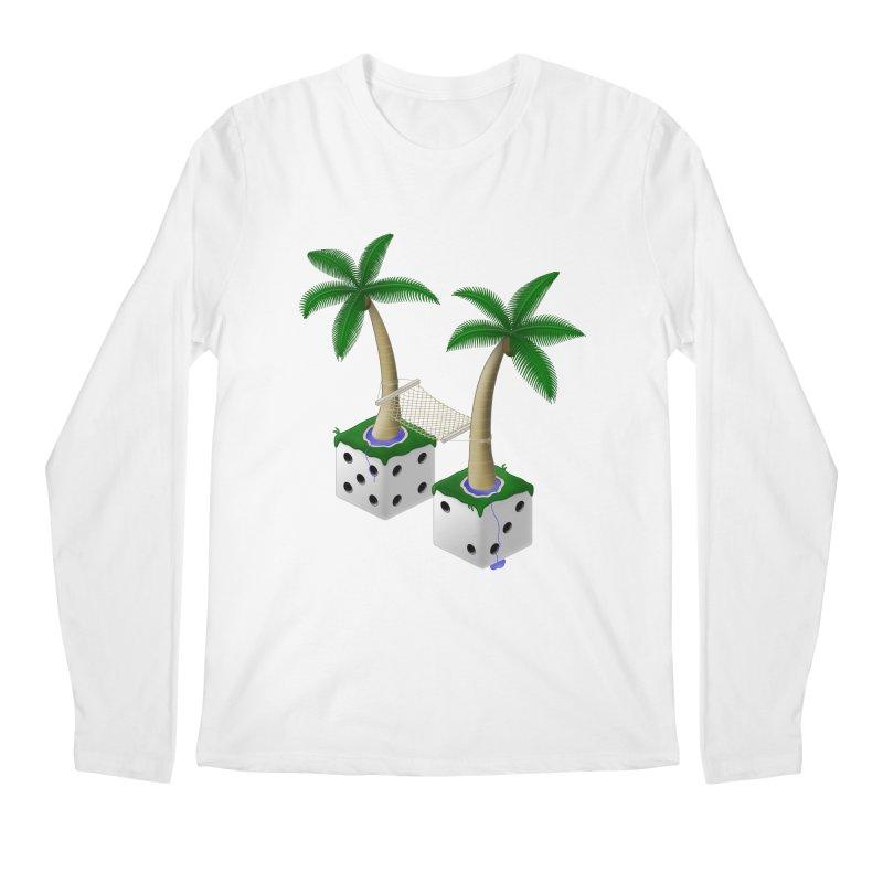 Paradice Men's Longsleeve T-Shirt by Eriklectric's Artist Shop