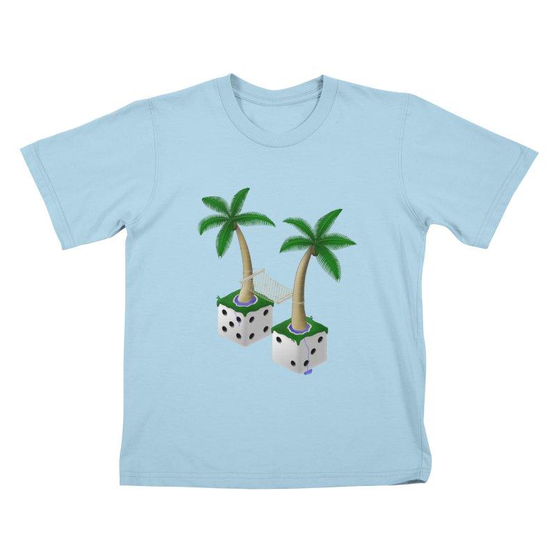 Paradice Kids T-Shirt by Eriklectric's Artist Shop