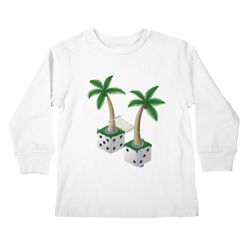 Paradice Kids Longsleeve T-Shirt by Eriklectric's Artist Shop