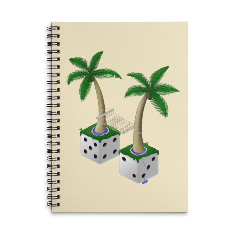 Paradice Accessories Notebook by Eriklectric's Artist Shop