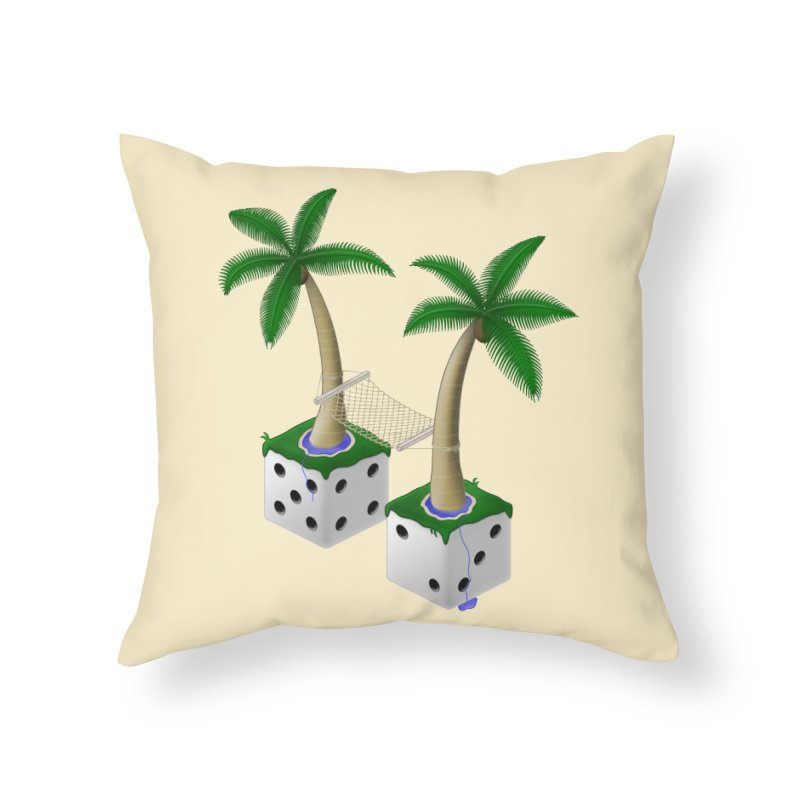 Paradice Home Throw Pillow by Eriklectric's Artist Shop