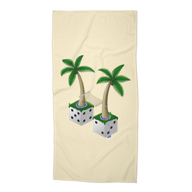 Paradice Accessories Beach Towel by Eriklectric's Artist Shop