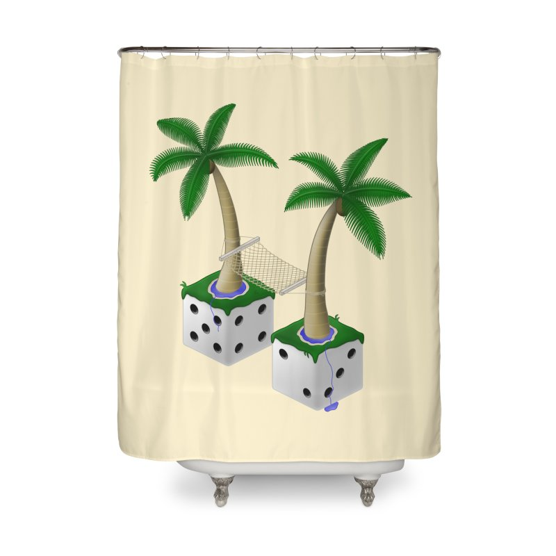 Paradice Home Shower Curtain by Eriklectric's Artist Shop