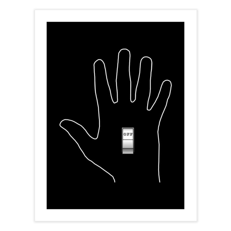 Off-Hand Home Fine Art Print by Eriklectric's Artist Shop