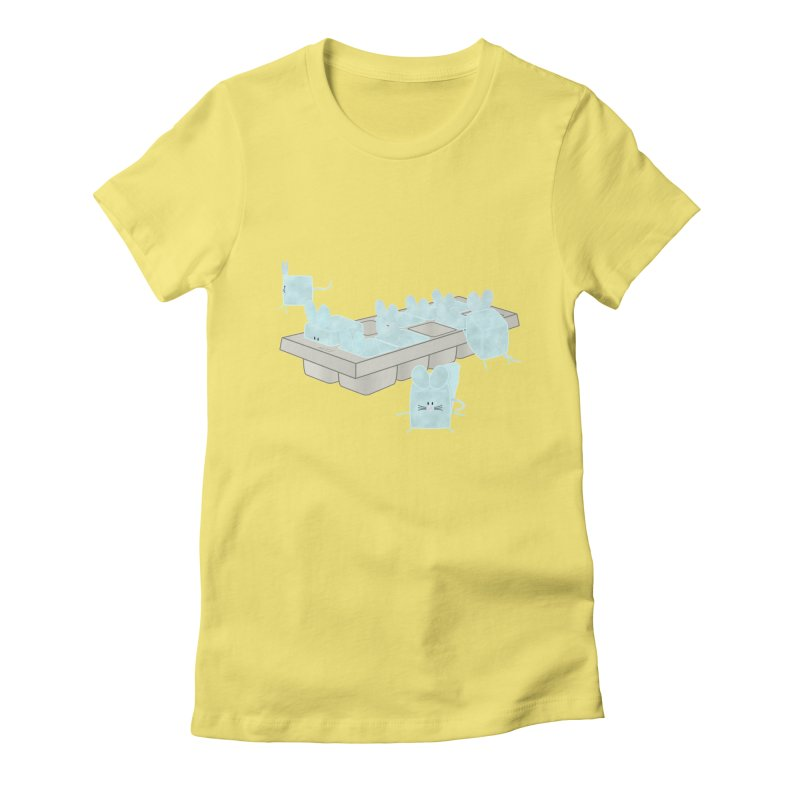Micecubes Women's Fitted T-Shirt by Eriklectric's Artist Shop