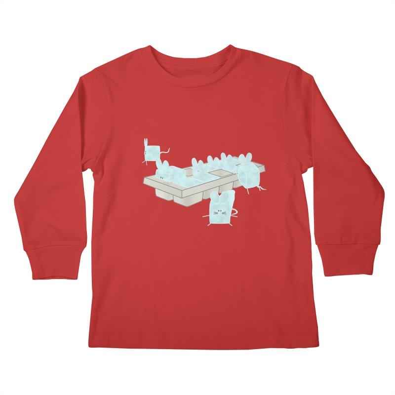 Micecubes Kids Longsleeve T-Shirt by Eriklectric's Artist Shop